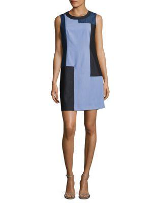 Block Dress by Calvin Klein