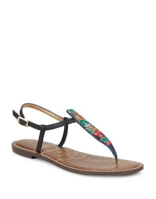 Gigi Leather Thong Sandals by Sam Edelman