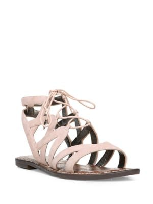 Gemma Lace-Up Gladiator Sandals by Sam Edelman