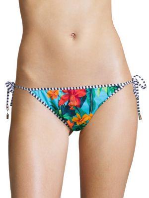 Side-Tie Printed Bikini Bottom by Tommy Bahama