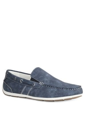 Ludlam Double Gore Moc Slip-Ons by Gbx