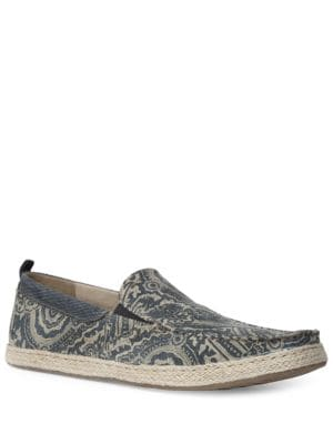 Dunn Double Gore Espadrille Slip-Ons by Gbx