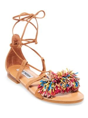 Swizzle Open-Toe Flat Sandals by Steve Madden