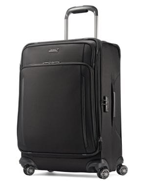 Zippered Spinner Luggage...