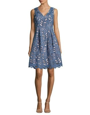 Bella Fit-&-Flare Dress by Adrianna Papell