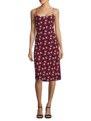 Floral Sheath Dress – Vogue 125 Rose Collection by Karl Lagerfeld Paris