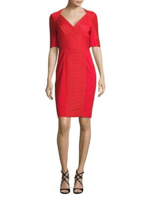 Ribbed Solid Dress by Nue By Shani