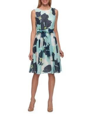 Multi Floral Bow Dress by Tommy Hilfiger
