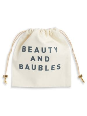 Beauty and Baubles Drawstring...