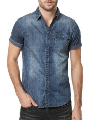 Siwen Shirt by BUFFALO David Bitton
