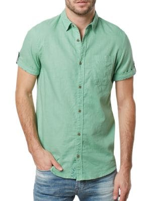 Salis Regular-Fit Shirt by BUFFALO David Bitton
