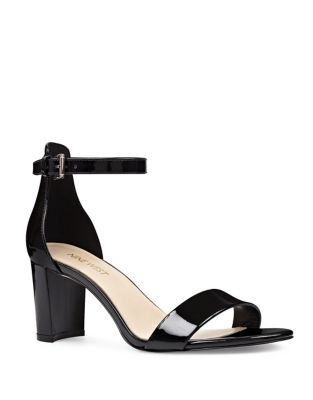 Pruce Faux Leather Sandals by Nine West