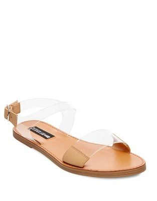 Lucy Lucite Sandals by Design Lab Lord & Taylor