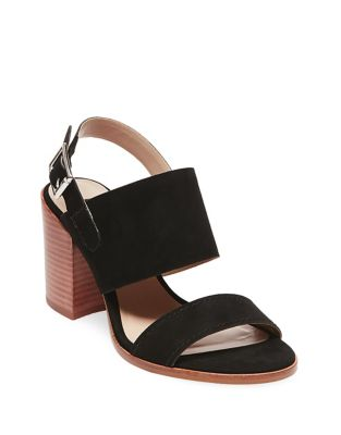 Jaxin Suede Slingback Sandals by Steven by Steve Madden