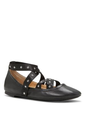 Nariah Stud-Accented Flats by Jessica Simpson