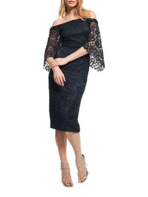 Lace Midi Dress by Shoshanna