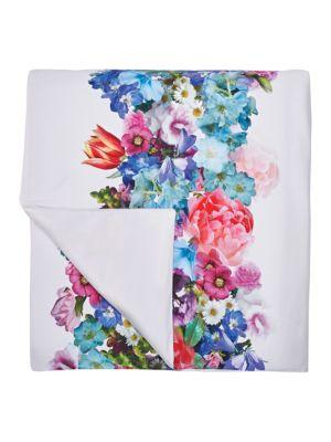 FloralPrint Full Comforter Set