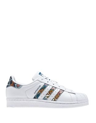 Photo of Superstar Leather Sneakers by Adidas - shop Adidas shoes sales