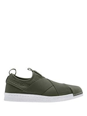 Women's Superstrap Slip-On Sneakers by Adidas