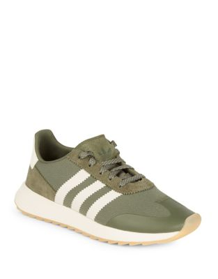 Women's Leather Sneakers by Adidas