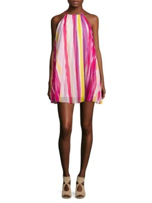 Striped Halter Dress by BB Dakota