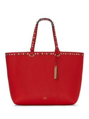 Tysa Embellished Leather Tote 500087094807