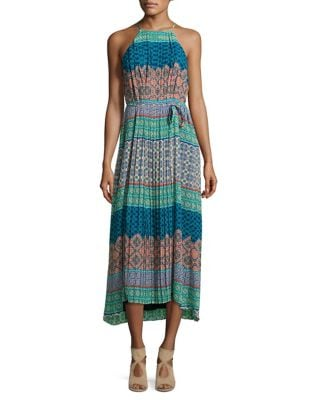 Pleated Midi Dress by Donna Morgan