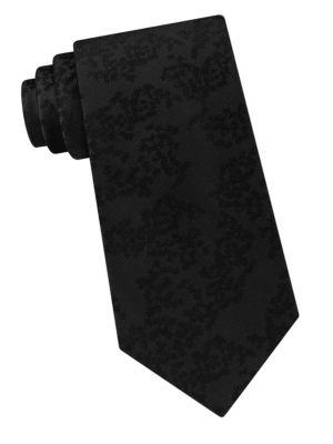 Woven Silk Tie by Calvin Klein