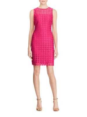 Melia Lace Sheath Dress by Lauren Ralph Lauren