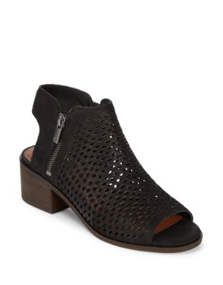 Nelwyna Leather Booties by Lucky Brand