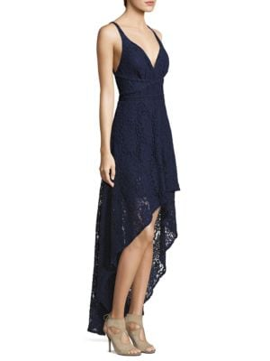 Hi-Lo Lace Gown by Laundry by Shelli Segal