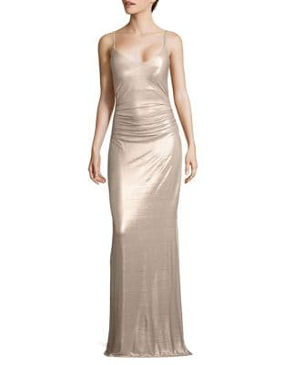 Spaghetti Strap Gown by Laundry by Shelli Segal