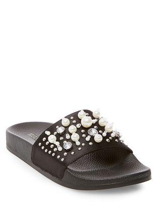 Buy Sandy Flat Sandals by Steve Madden online