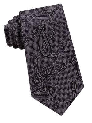 Paisley Silk Tie @...