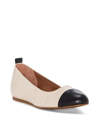 Lilliane Leather Ballet Flats by Ed Ellen Degeneres