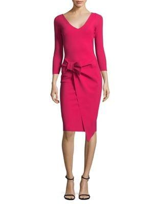 Casual Bow Knee-Length Dress by La Petite Robe di Chiara Boni