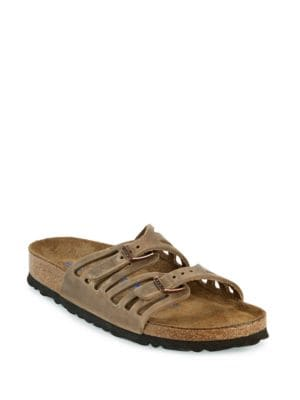 Granada Oiled Leather Double Strap Sandals by Birkenstock