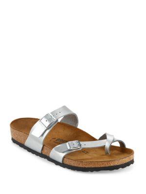 Mayari Metallic Sandals by Birkenstock