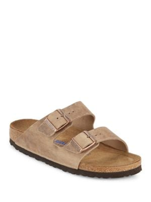 Arizona Double-Strap Leather Sandals by Birkenstock