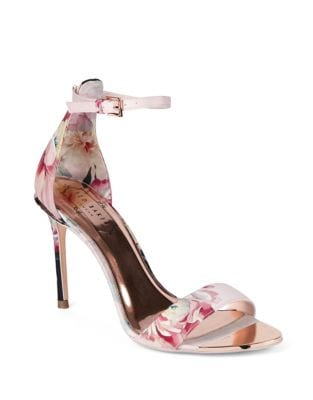 Floral Ankle-Strap Sandals by Ted Baker London