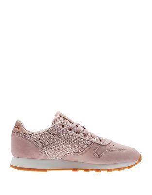 CL Leather EBK Sneakers by Reebok