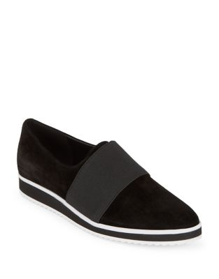 Textured Elastic Loafer by Karl Lagerfeld Paris