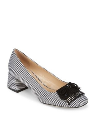 Cindy Houndstooth Pump by Karl Lagerfeld Paris