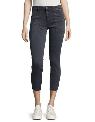 Cropped Cargo Skinny Jeans 500087112941