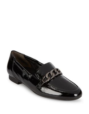 Newcastle Patent Leather Loafers by Paul Green