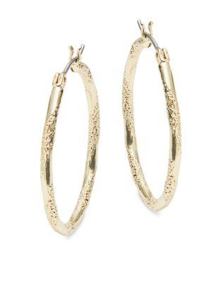 Textured Hoop Earrings 500087113495