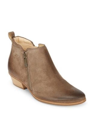 Jillian Suede Booties by Paul Green