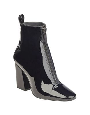 Raquel Patent Leather Booties by KENDALL + KYLIE