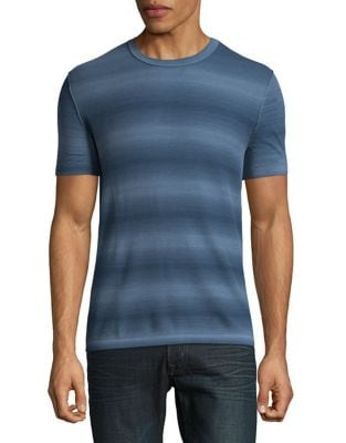 Textured CottonTee by Michael Kors