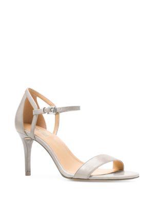 Simone Leather Stiletto Sandals by MICHAEL MICHAEL KORS